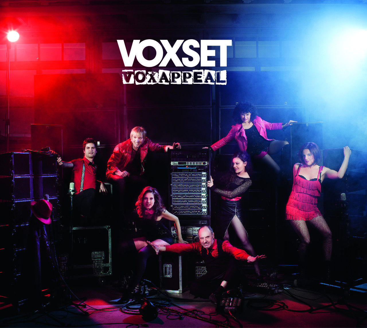 Couverture CD de Voxset shooting au studio photo location the place